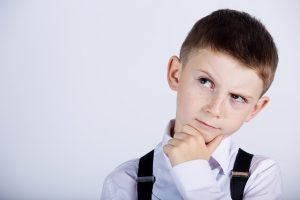 Jay. class 6M, looking confused